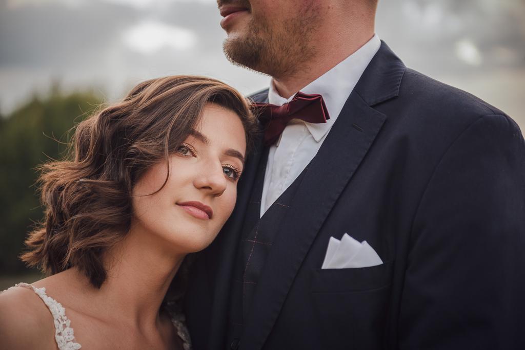 Portret ślubny panny młodej