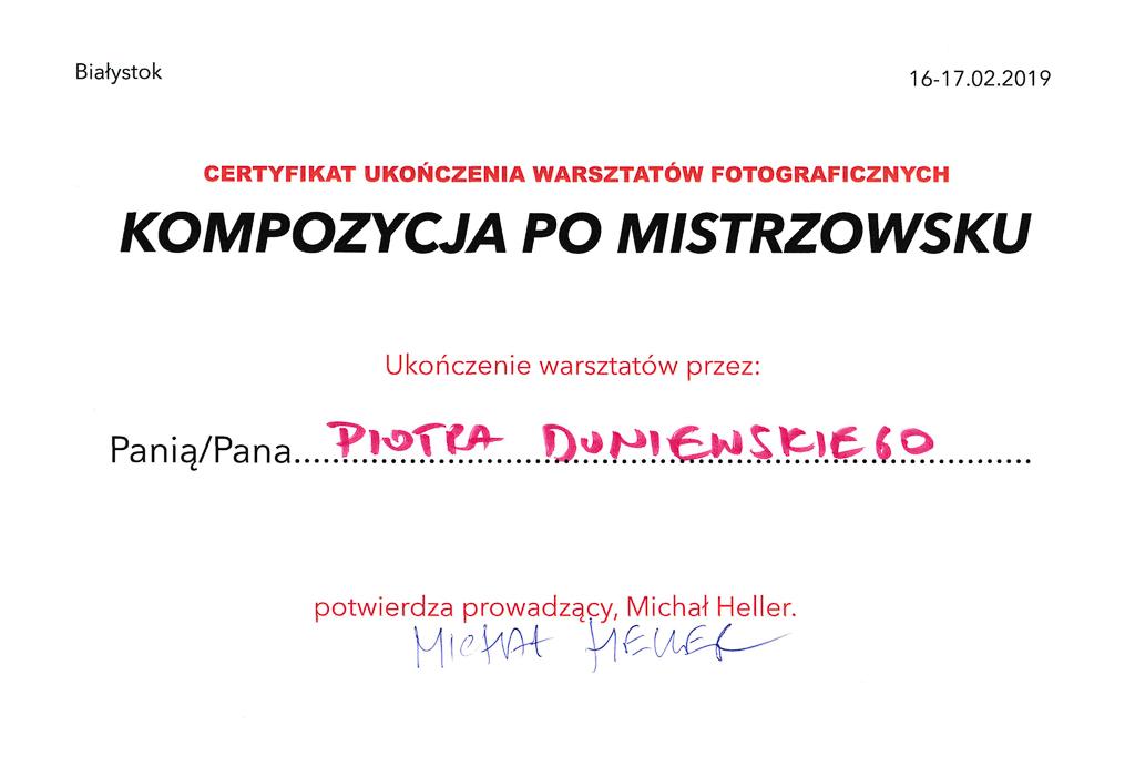 Kurs - Piotr Duniewski