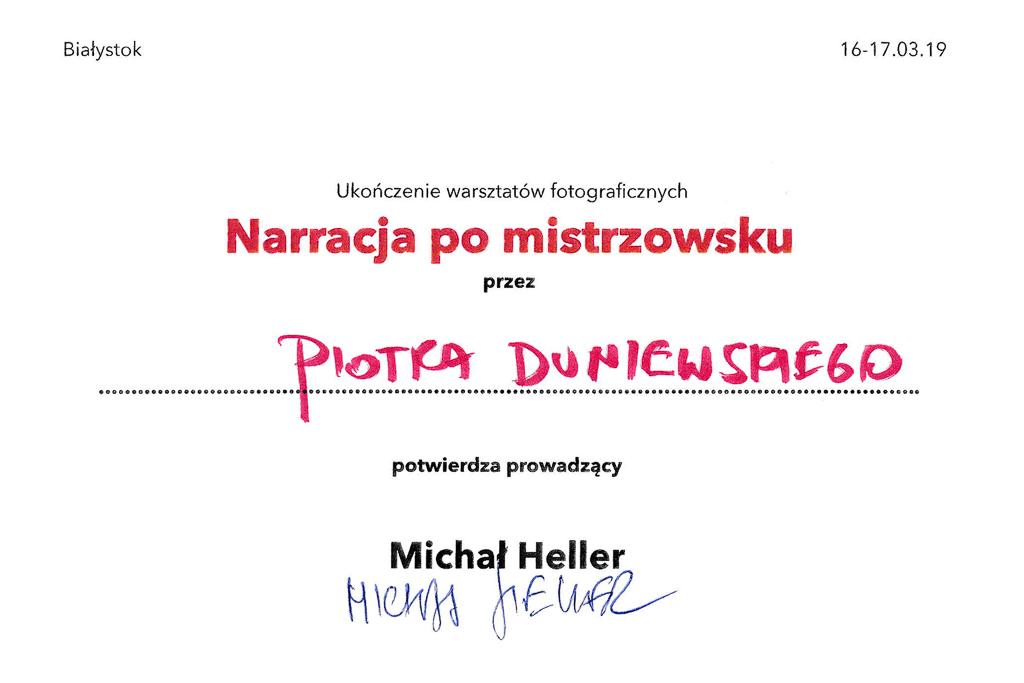 Kurs 2 - Piotr Duniewski